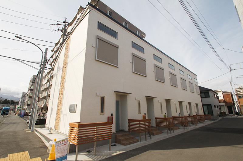 新築デザイナーズアパートメント竣工