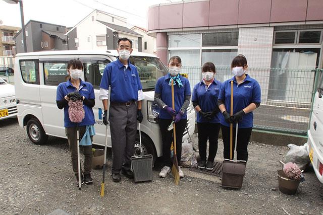 NISHIDAお掃除隊密着レポート