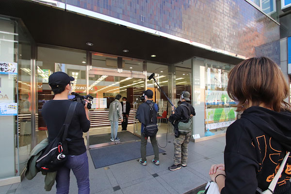 テレビ東京「よじごじDays」から取材を受け放送されました!